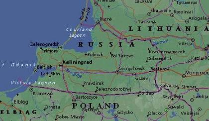kaliningrad mapa Kaliningrad | InKaliningrad kaliningrad mapa