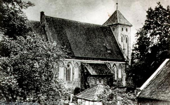 Arnau church in Koenigsberg times