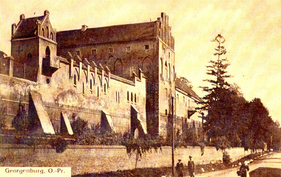 Castle Georgenburg in Mayovka village