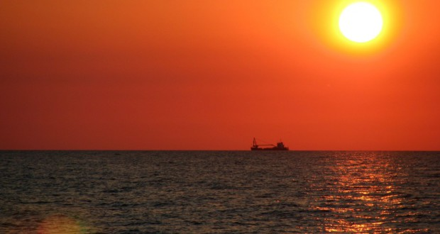 Sunset in Svetlogorsk