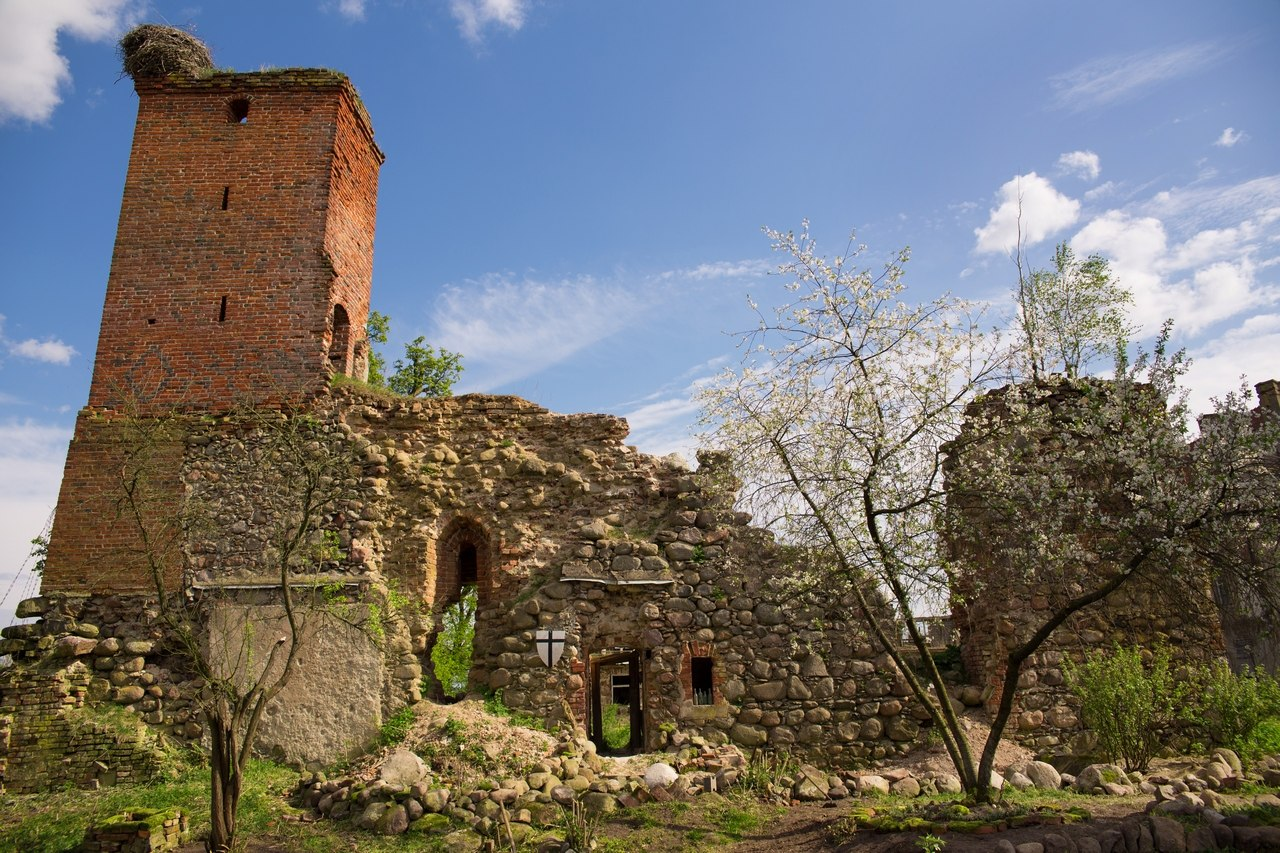 Ruins of Georgenburg castle